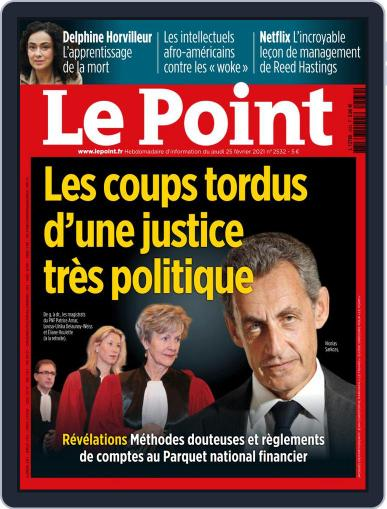 Le Point (Digital) February 25th, 2021 Issue Cover