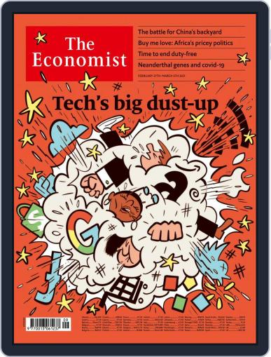 The Economist Continental Europe Edition February 27th, 2021 Digital Back Issue Cover