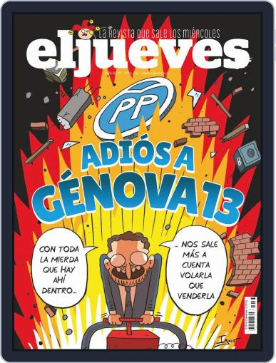 El Jueves (Digital) February 23rd, 2021 Issue Cover