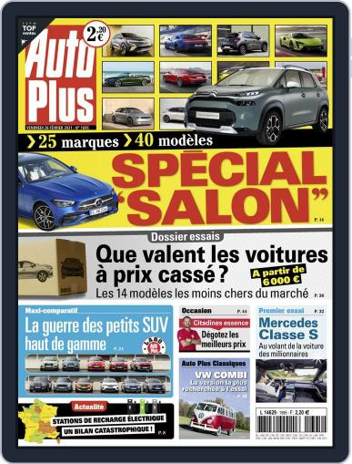 Auto Plus France (Digital) February 26th, 2021 Issue Cover