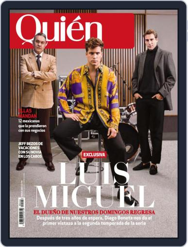 Quién (Digital) March 1st, 2021 Issue Cover