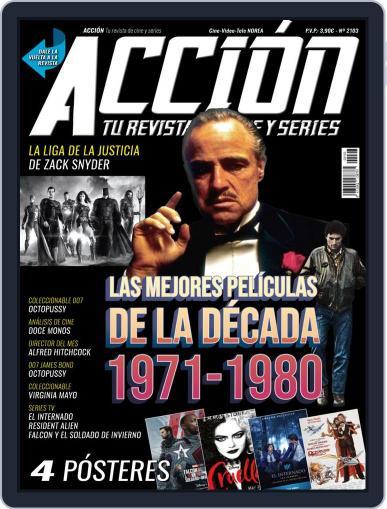 Accion Cine-video (Digital) March 1st, 2021 Issue Cover