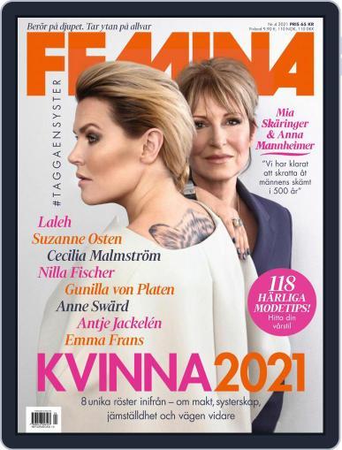 Femina Sweden (Digital) April 1st, 2021 Issue Cover