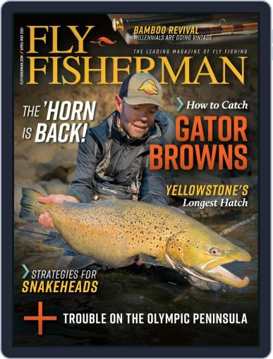 Fly Fisherman April 1st, 2021 Digital Back Issue Cover