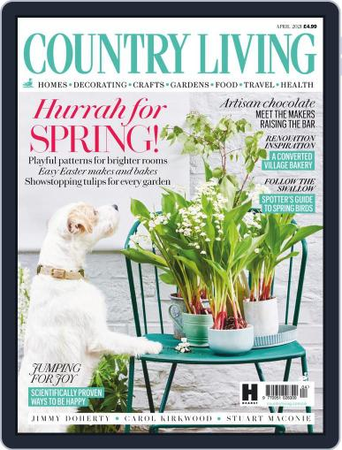 Country Living UK April 1st, 2021 Digital Back Issue Cover