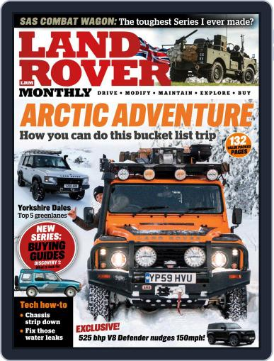 Land Rover Monthly April 1st, 2021 Digital Back Issue Cover
