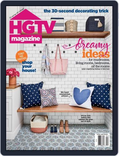 Hgtv (Digital) April 1st, 2021 Issue Cover
