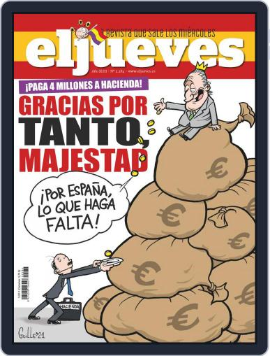El Jueves (Digital) March 2nd, 2021 Issue Cover