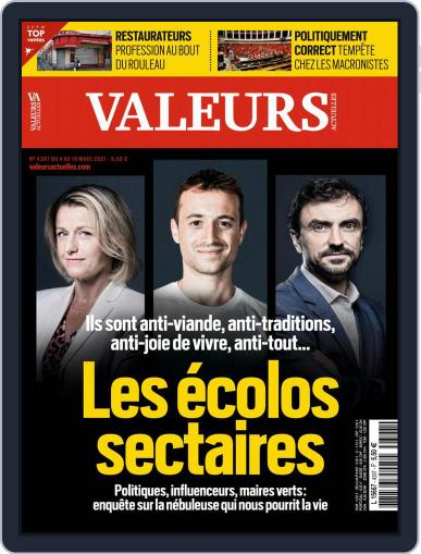 Valeurs Actuelles (Digital) March 4th, 2021 Issue Cover