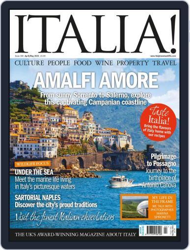 Italia April 1st, 2021 Digital Back Issue Cover