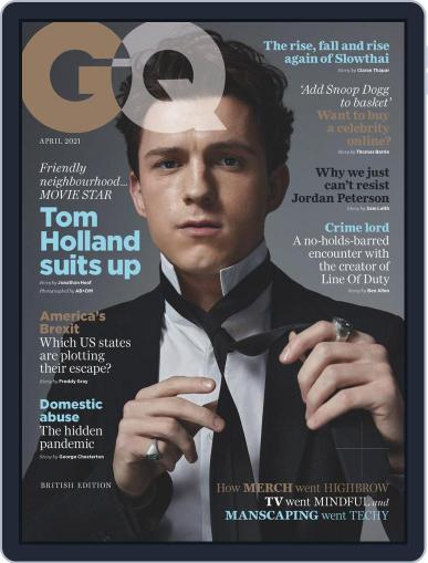 British GQ (Digital) April 1st, 2021 Issue Cover