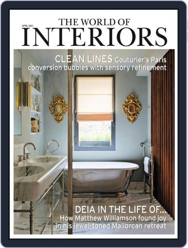 The World of Interiors April 1st, 2021 Digital Back Issue Cover
