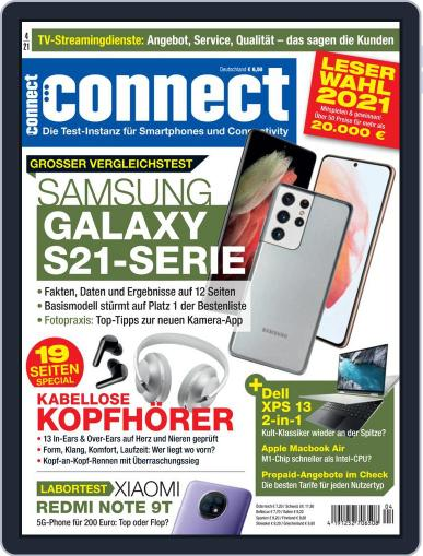 Connect April 1st, 2021 Digital Back Issue Cover