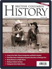 British Columbia History (Digital) Subscription March 1st, 2021 Issue