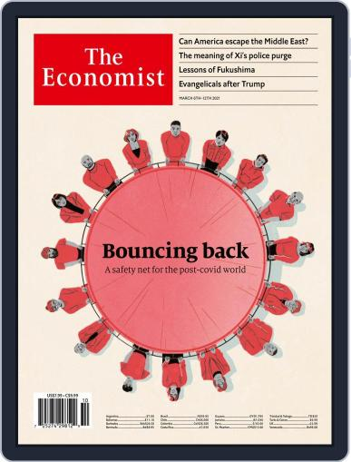 The Economist Latin America March 6th, 2021 Digital Back Issue Cover