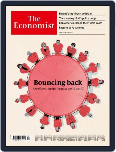 The Economist Continental Europe Edition March 6th, 2021 Digital Back Issue Cover