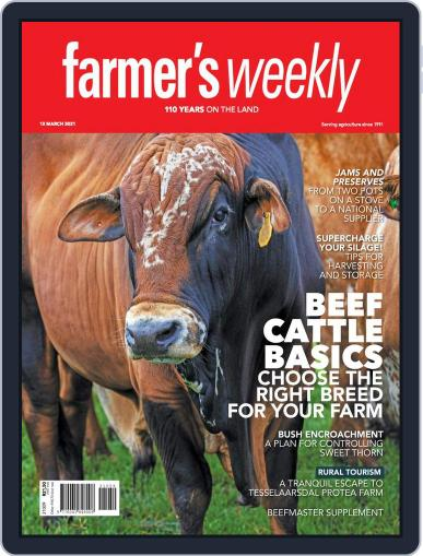 Farmer's Weekly March 12th, 2021 Digital Back Issue Cover