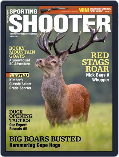 Sporting Shooter April 1st, 2021 Digital Back Issue Cover