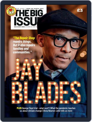 The Big Issue March 8th, 2021 Digital Back Issue Cover
