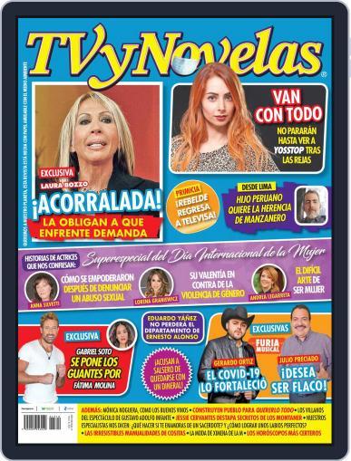 TV y Novelas México (Digital) March 8th, 2021 Issue Cover