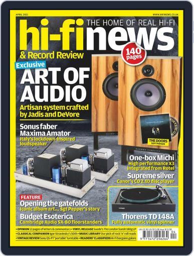 Hi Fi News (Digital) April 1st, 2021 Issue Cover