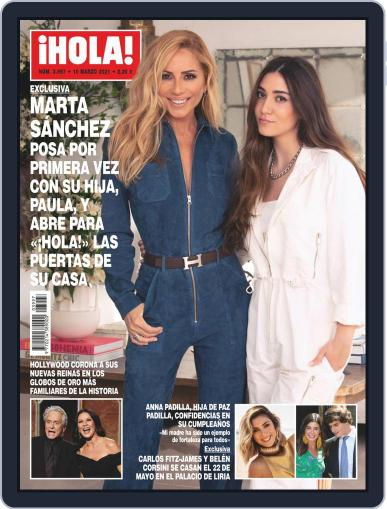 Hola (Digital) March 10th, 2021 Issue Cover