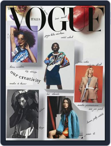 Vogue Italia (Digital) March 1st, 2021 Issue Cover