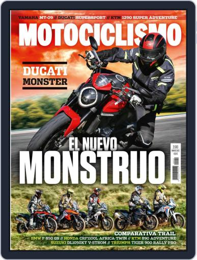 Motociclismo (Digital) March 1st, 2021 Issue Cover