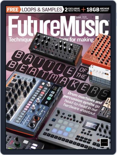 Future Music (Digital) April 1st, 2021 Issue Cover