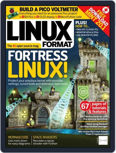Linux Format April 1st, 2021 Digital Back Issue Cover