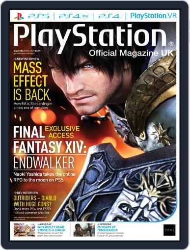 Official PlayStation Magazine - UK Edition (Digital) April 1st, 2021 Issue Cover