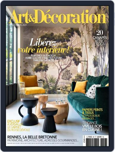 Art & Décoration March 1st, 2021 Digital Back Issue Cover
