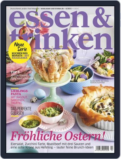 essen&trinken April 1st, 2021 Digital Back Issue Cover