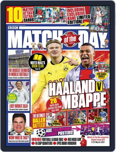 Match Of The Day (Digital) March 9th, 2021 Issue Cover