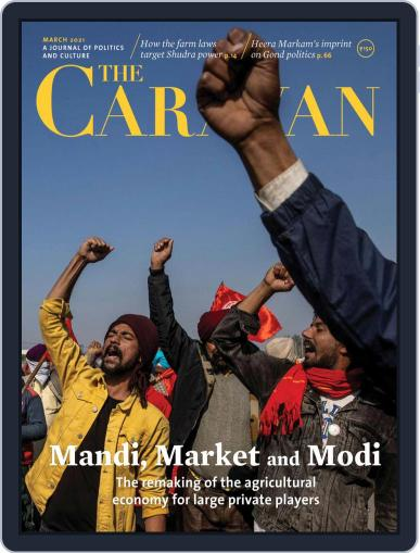 The Caravan March 1st, 2021 Digital Back Issue Cover