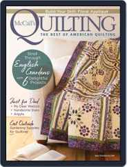McCall's Quilting (Digital) Subscription May 1st, 2021 Issue