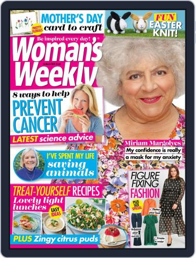 Woman's Weekly March 16th, 2021 Digital Back Issue Cover