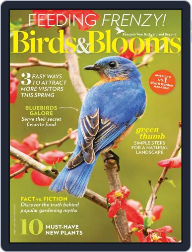 Birds & Blooms (Digital) April 1st, 2021 Issue Cover