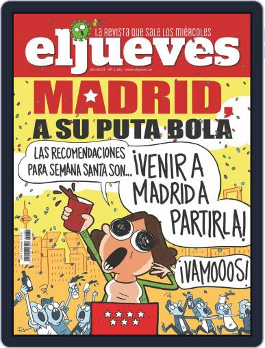 El Jueves (Digital) March 10th, 2021 Issue Cover