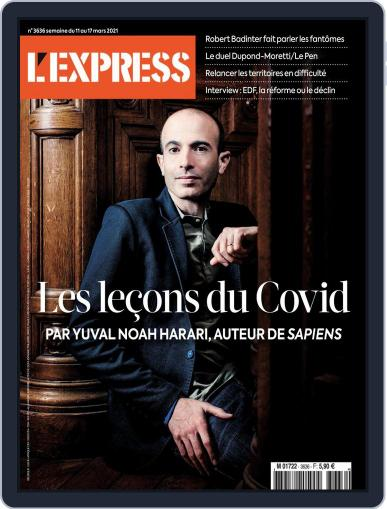 L'express (Digital) March 11th, 2021 Issue Cover
