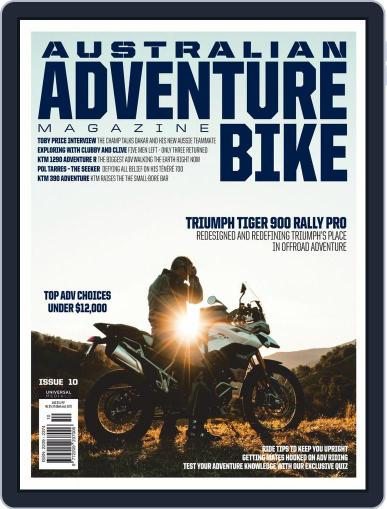 Ultimate Adventure Bike November 1st, 2020 Digital Back Issue Cover