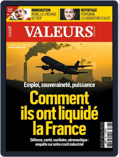 Valeurs Actuelles (Digital) March 11th, 2021 Issue Cover