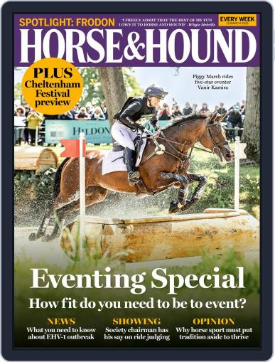 Horse & Hound (Digital) March 11th, 2021 Issue Cover