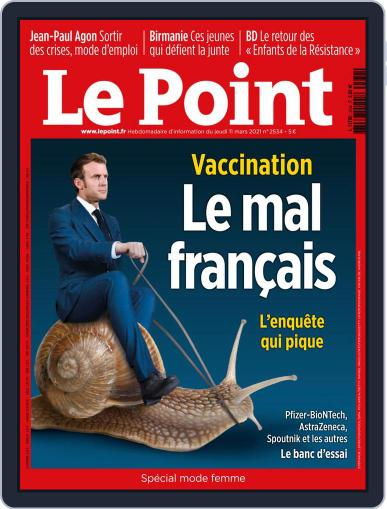 Le Point March 11th, 2021 Digital Back Issue Cover