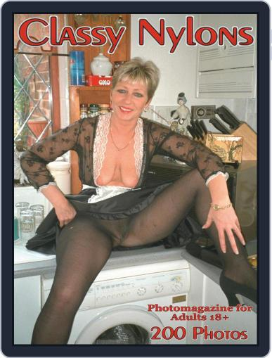 Classy Nylons Adult Photo (Digital) March 12th, 2021 Issue Cover