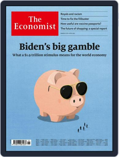 The Economist Continental Europe Edition March 13th, 2021 Digital Back Issue Cover