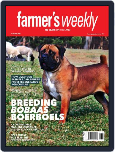Farmer's Weekly March 19th, 2021 Digital Back Issue Cover