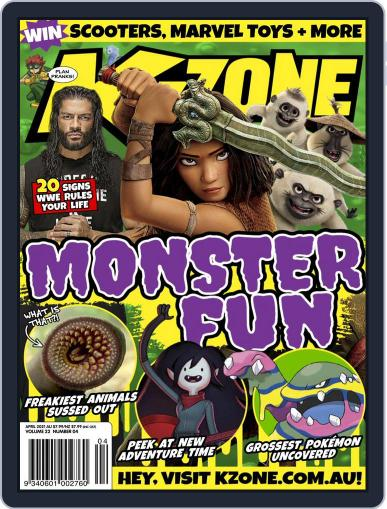 K-Zone (Digital) April 1st, 2021 Issue Cover