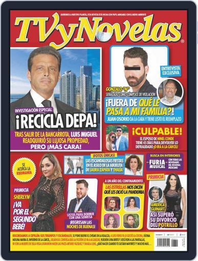 TV y Novelas México (Digital) March 15th, 2021 Issue Cover