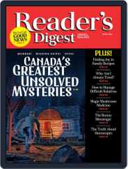 Reader's Digest Canada (Digital) Subscription April 1st, 2021 Issue